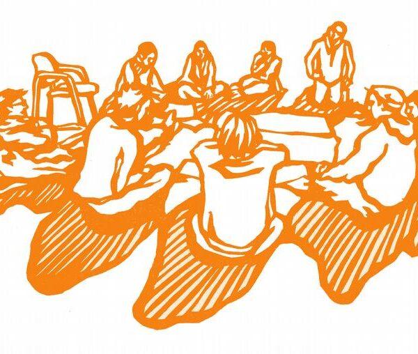 En defensa de lo común, redes colectivas y apoyo mutuo.