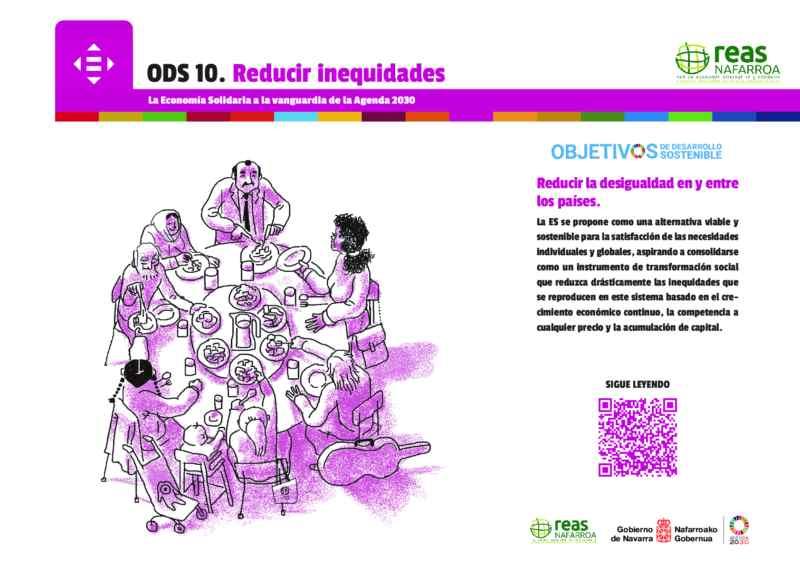 ODS10 – Reducir la desigualdad en y entre los países.