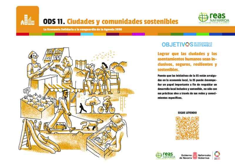 ODS11 – Lograr que las ciudades y los asentamientos humanos sean inclusivos, seguros, resilientes y sostenibles.