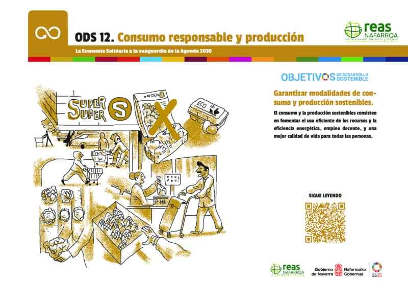 ODS12 – Garantizar modalidades de consumo y producción sostenibles.