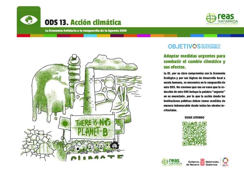 ODS13 – Adoptar medidas urgentes para combatir el cambio climático y sus efectos.