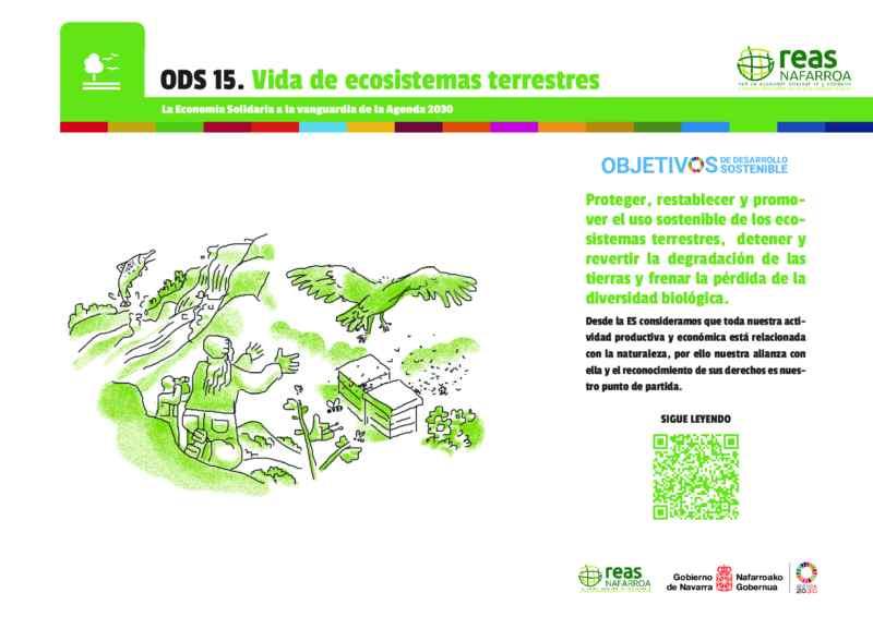 ODS 14 y 15 – Conservar y utilizar en forma sostenible los océanos, los mares y los recursos marinos para el desarrollo sostenible.Proteger, restablecer y promover el uso sostenible de los ecosistemas terrestres, efectuar una ordenación sostenible de los bosques, luchar contra la desertificación, detener y revertir la degradación de las tierras y frenar la pérdida de la diversidad biológica.