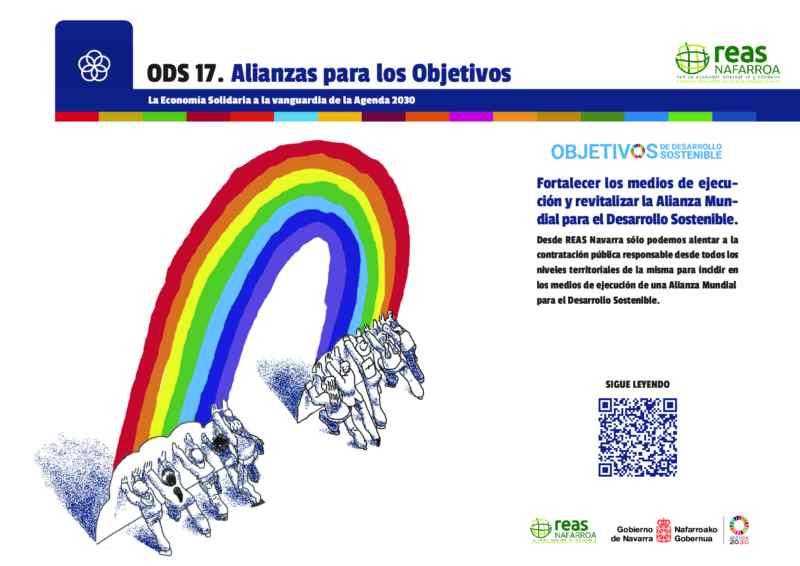 ODS 17- Fortalecer los medios de ejecución y revitalizar la Alianza Mundial para el Desarrollo Sostenible.