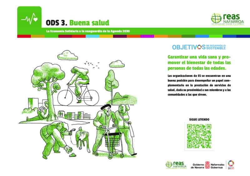 ODS3 – Garantizar una vida sana y promover el bienestar de las personas de todas las edades.