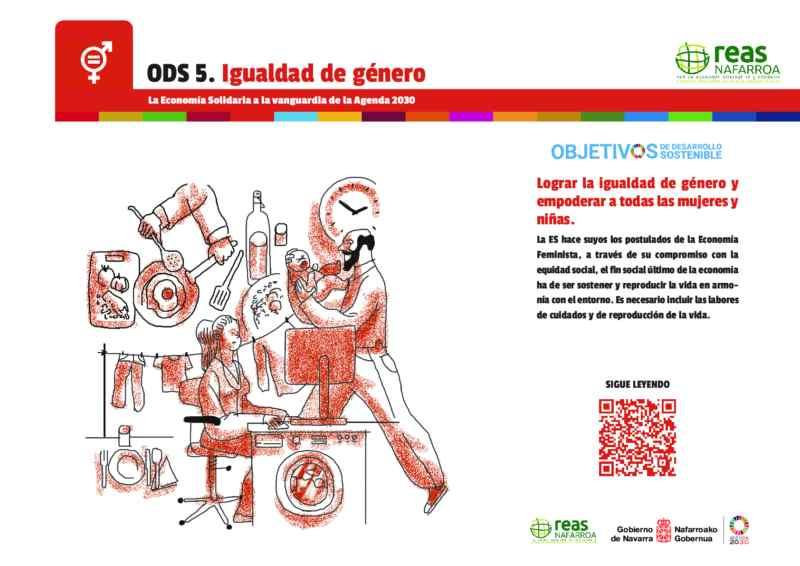 ODS5 – Lograr la igualdad de género y empoderar a todas las mujeres y niñas.