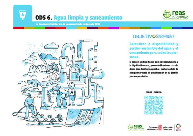 ODS6 – Garantizar la disponibilidad y gestión sostenible del agua y el saneamiento para todas las personas.