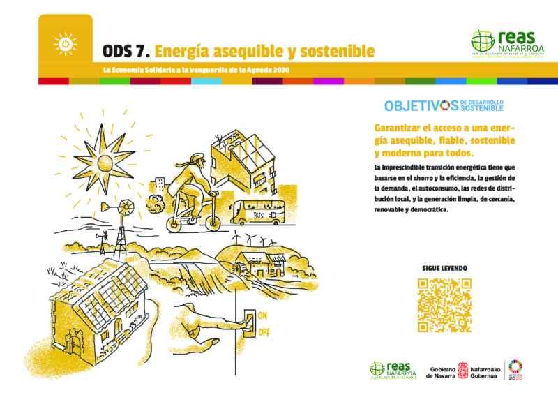 ODS7 – Garantizar el acceso a una energía asequible, fiable, sostenible y moderna para todos.