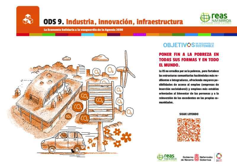ODS9 – Construir infraestructuras resilientes, promover la industrialización inclusiva y sostenible y fomentar la innovación.